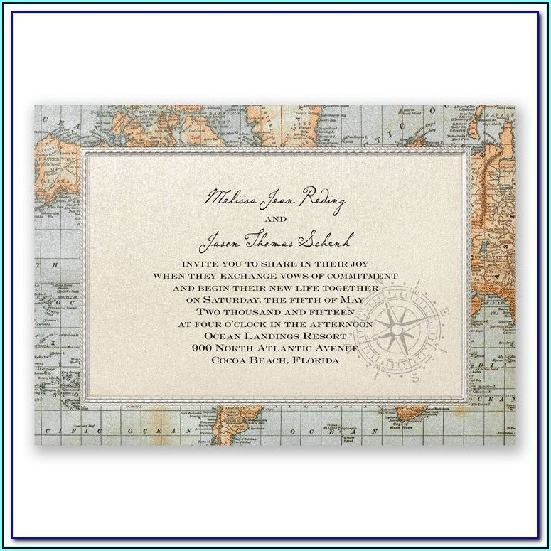 Create Map For Wedding Invitation