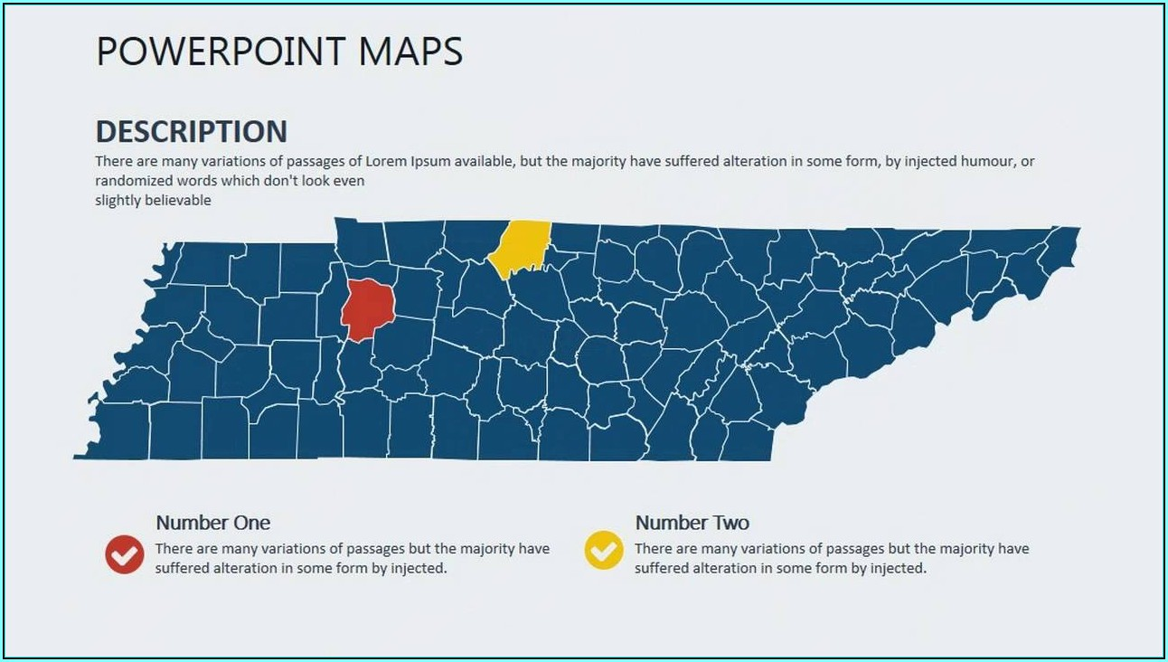 Editable Us Map Powerpoint Template Free