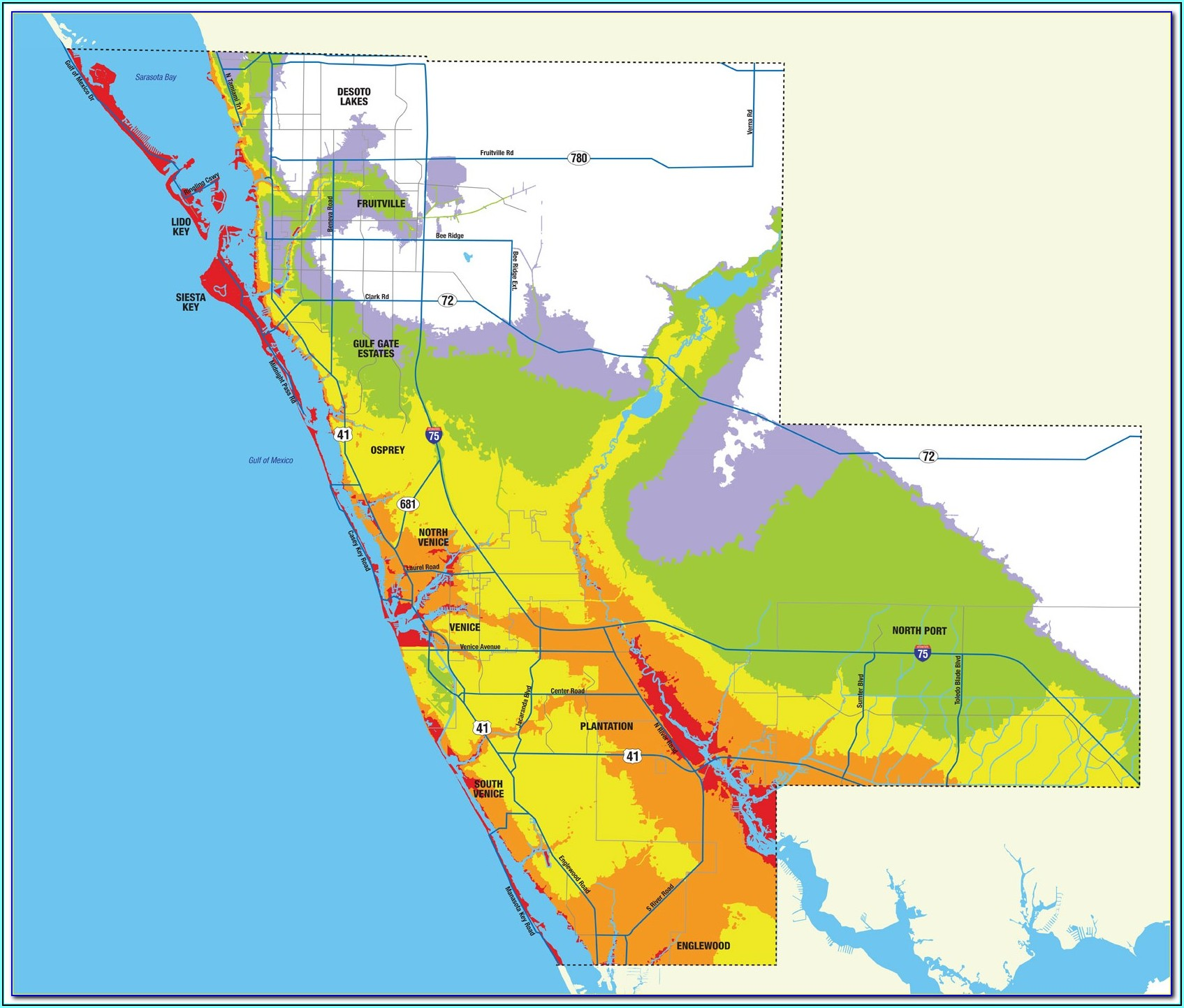 Flood Zone Maps Florida