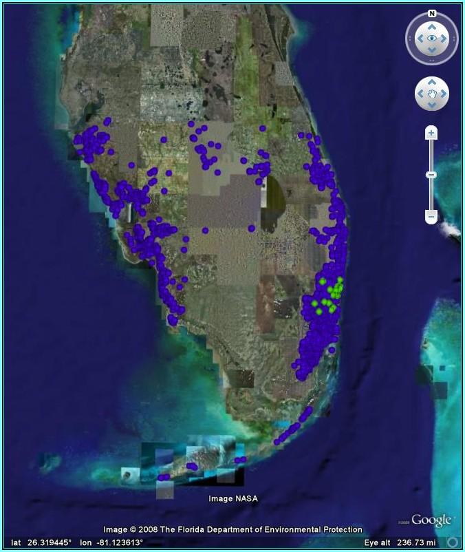 Florida Flood Map 2018