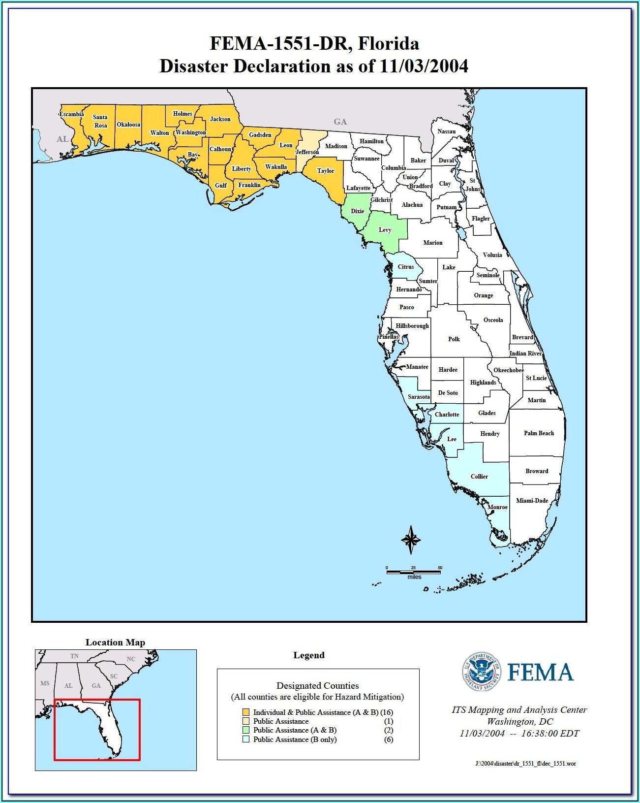 Florida Flood Maps Global Warming