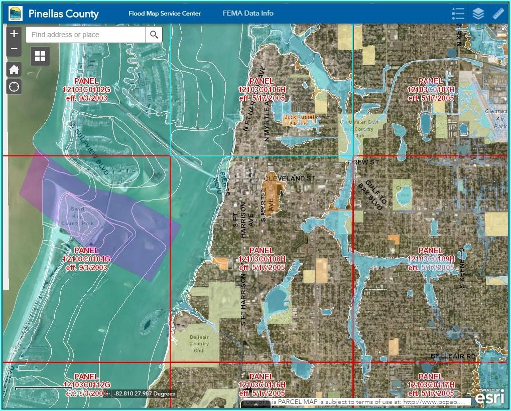 Florida Flood Zone Map 2019
