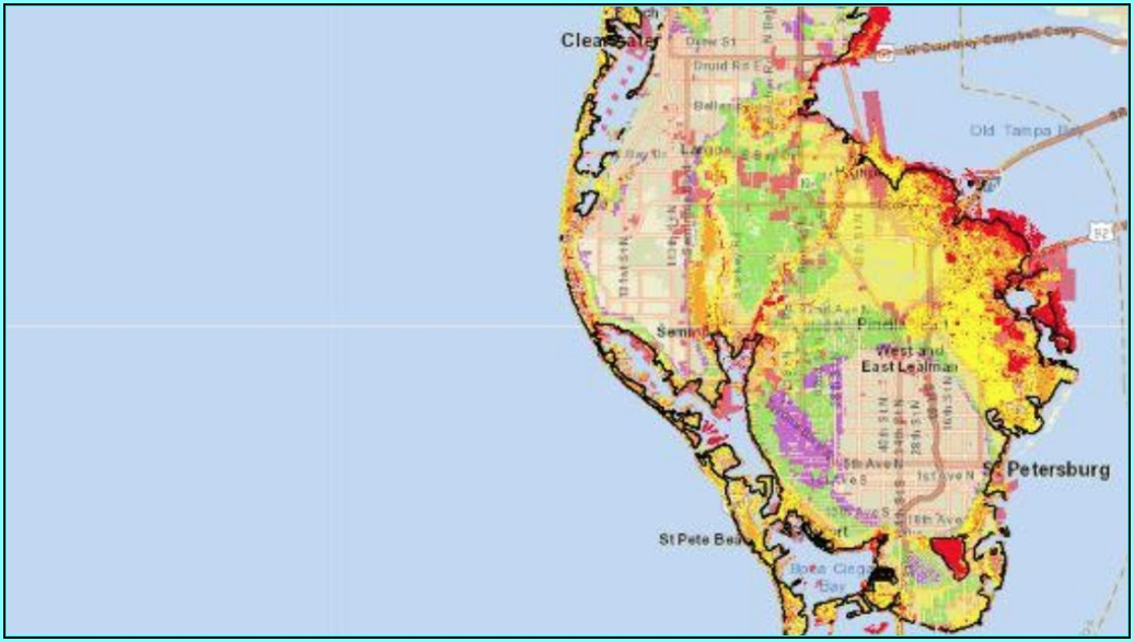 Florida Flood Zone Map Pinellas County