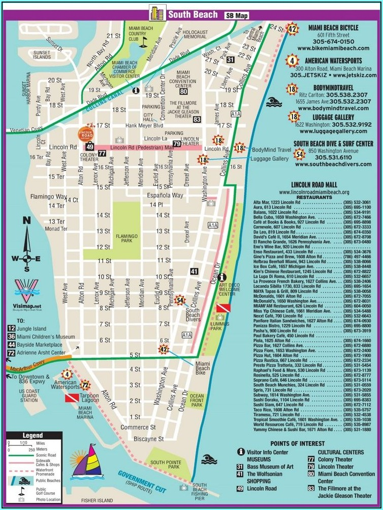 Fort Myers Beach Hotel Map