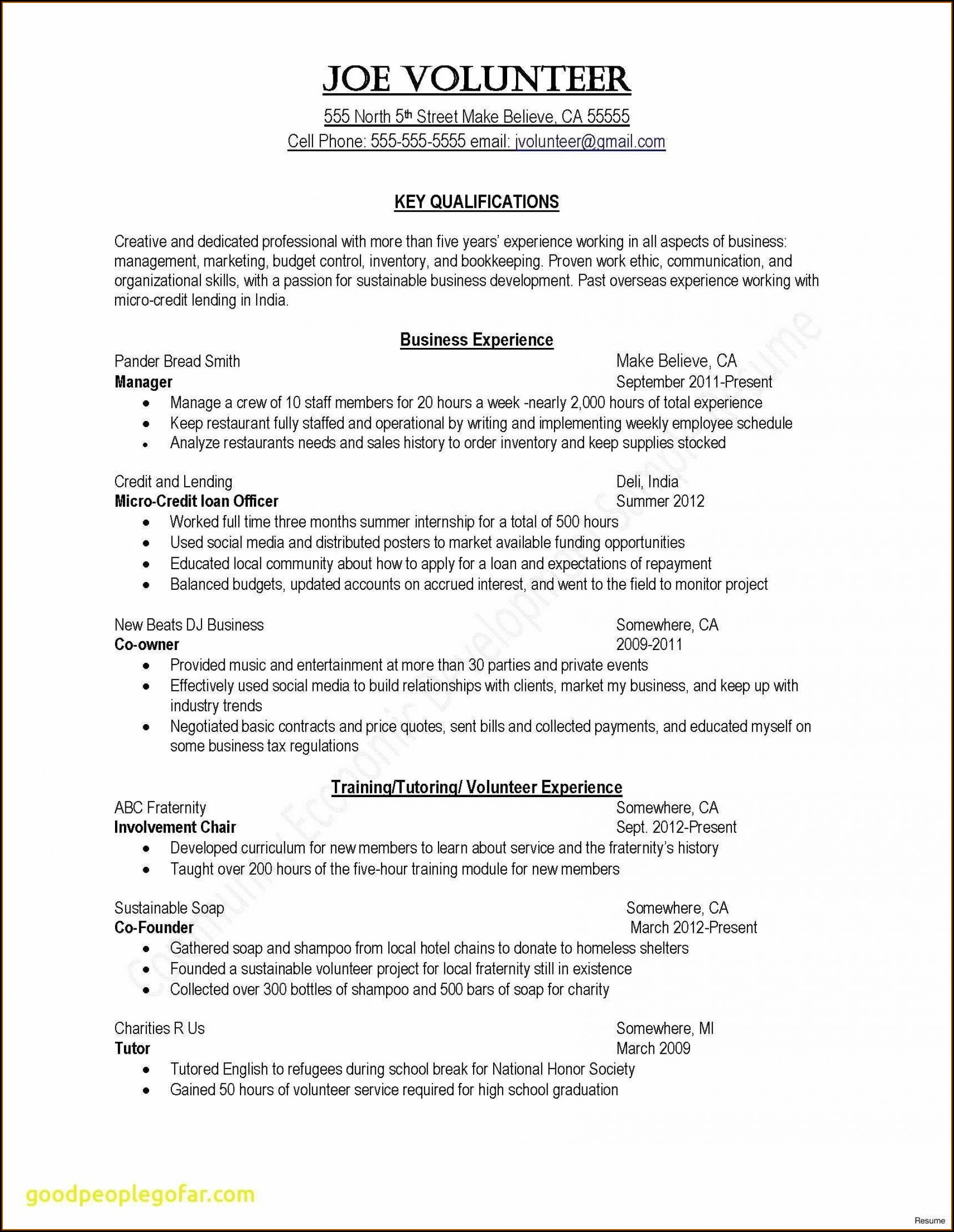 Free Printable Templates For Resumes