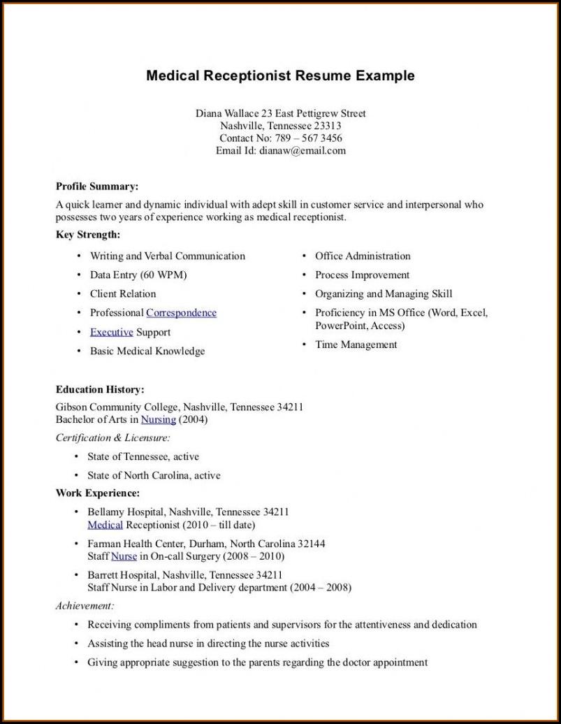 Free Sample Nursing Resume Templates