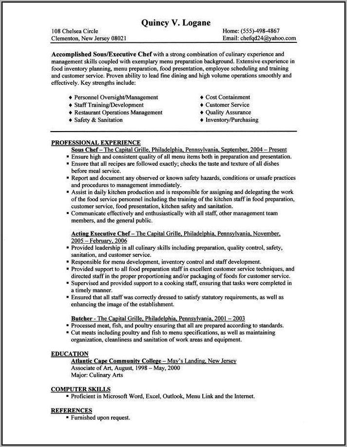 How To Make A Good Resume For A Job
