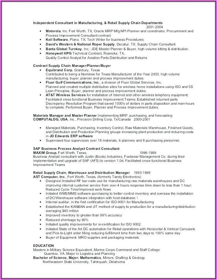 How To Make A Good Resume With No Experience