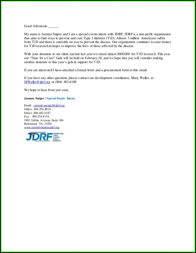 Jdrf Donation Submission Form