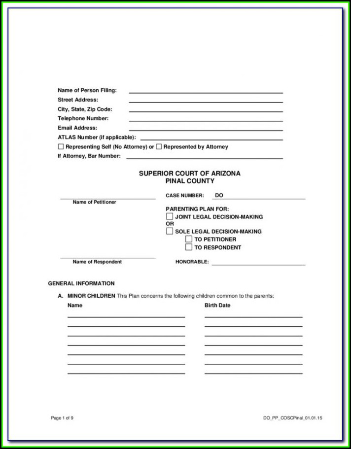 Kane County Divorce Filing
