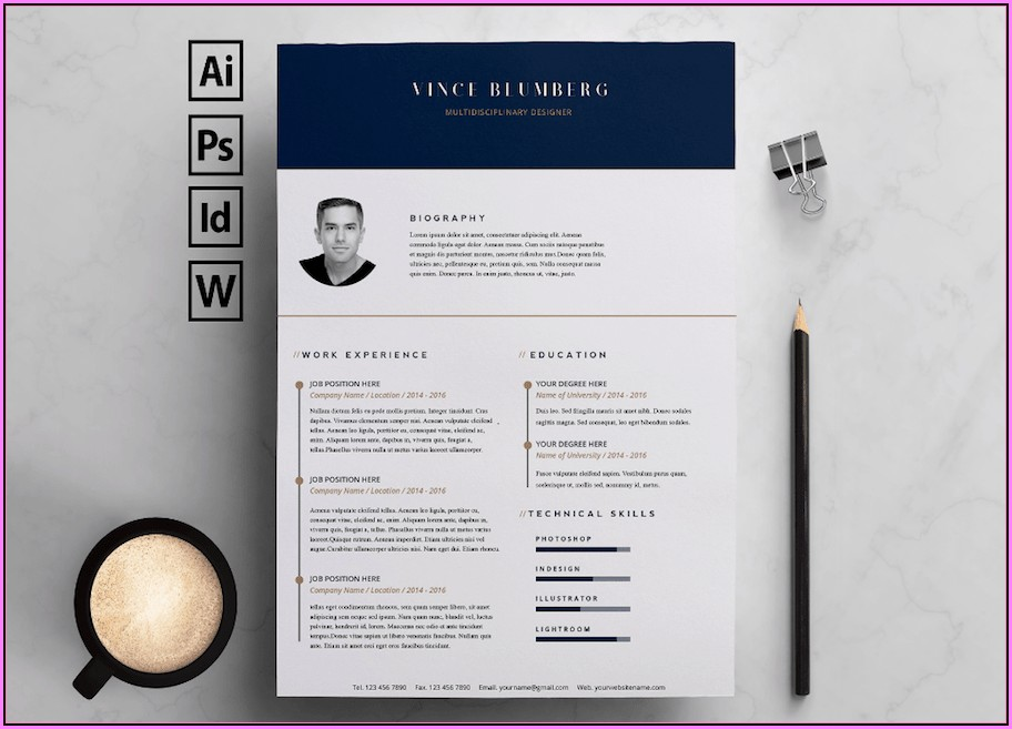 Ms Word Cv Templates Free