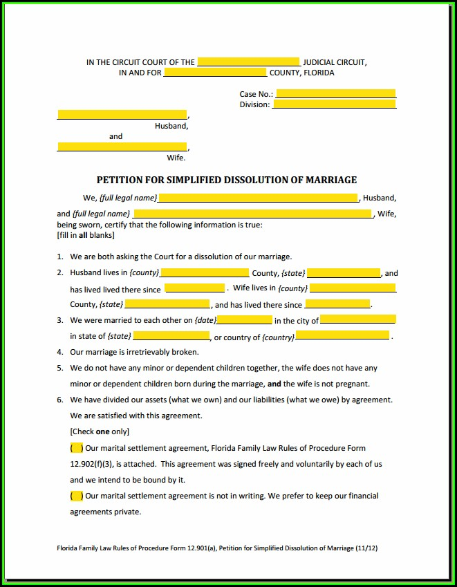 New York Supreme Court Uncontested Divorce Forms