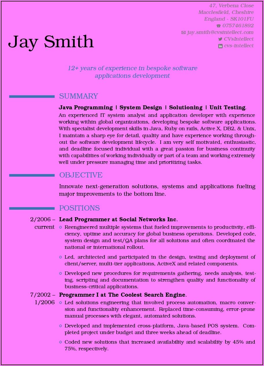 Online Free Resume Maker