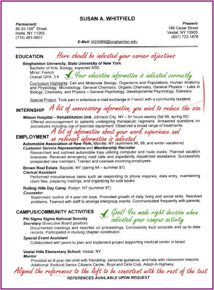 Physician Resume Service