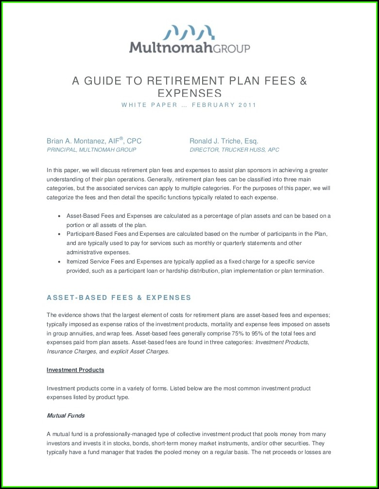 Principal Retirement Plan Forms