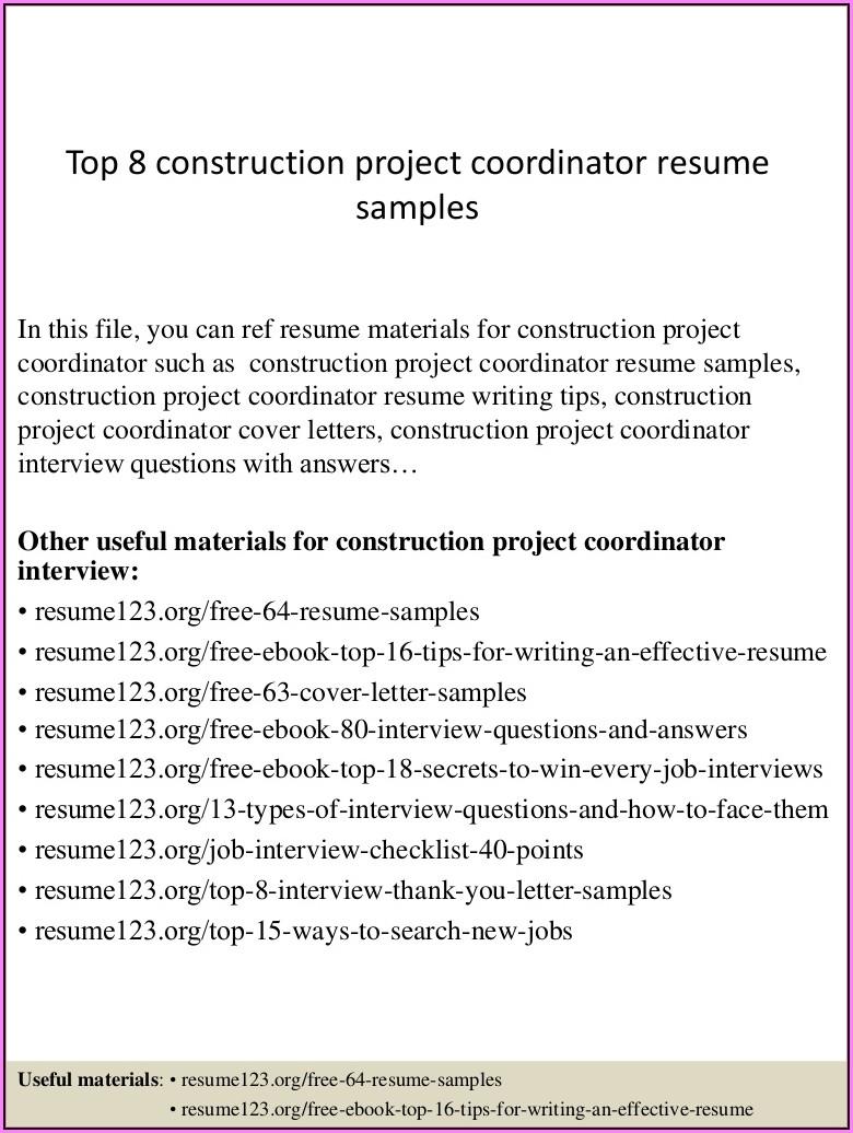 Resume 123.orgfree 64 Resume Samples