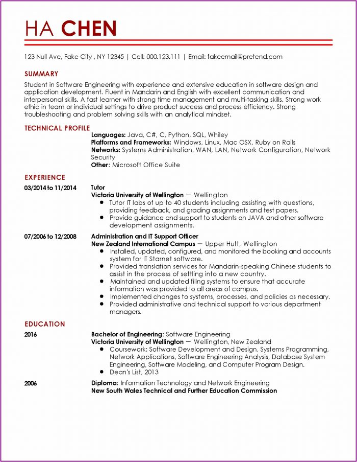 Resume Software For Mac Computers