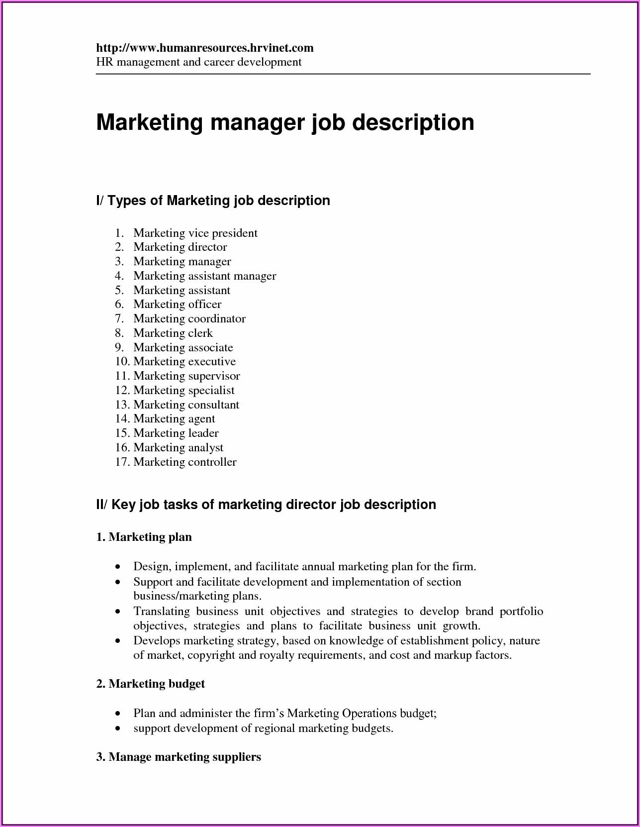 Resume Templates For Sales Representative
