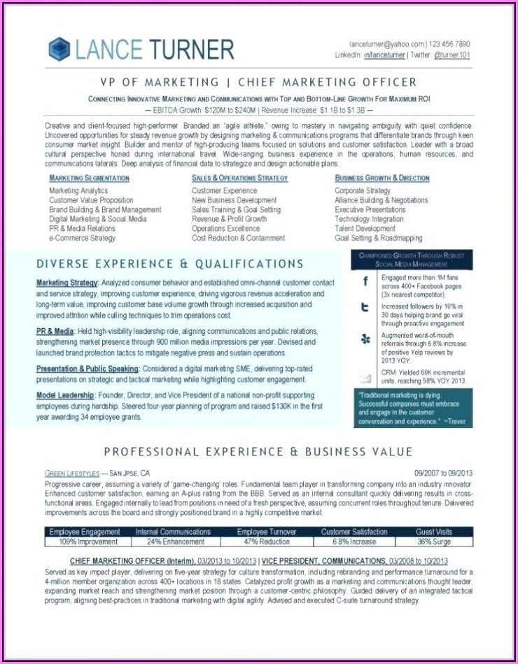 Sales Executive Cv Template Download