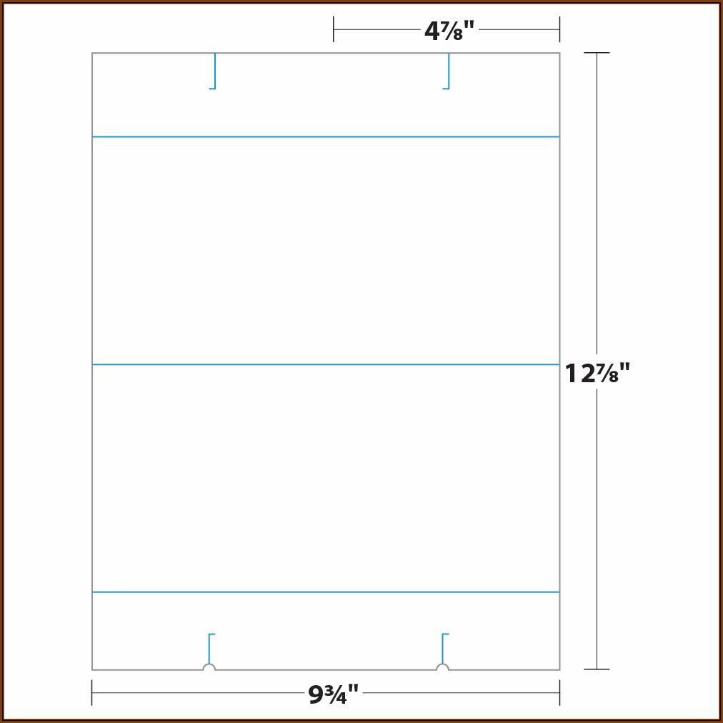 4x6 Table Tent Template Word