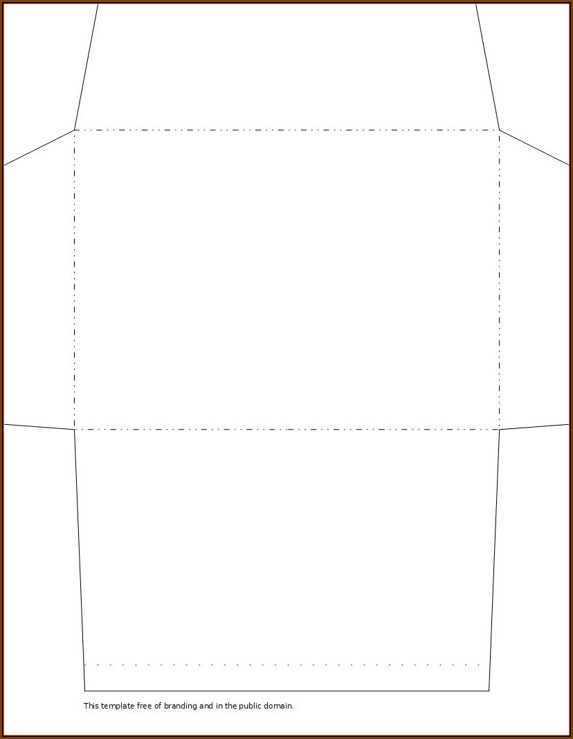 6x9 Catalog Envelope Template