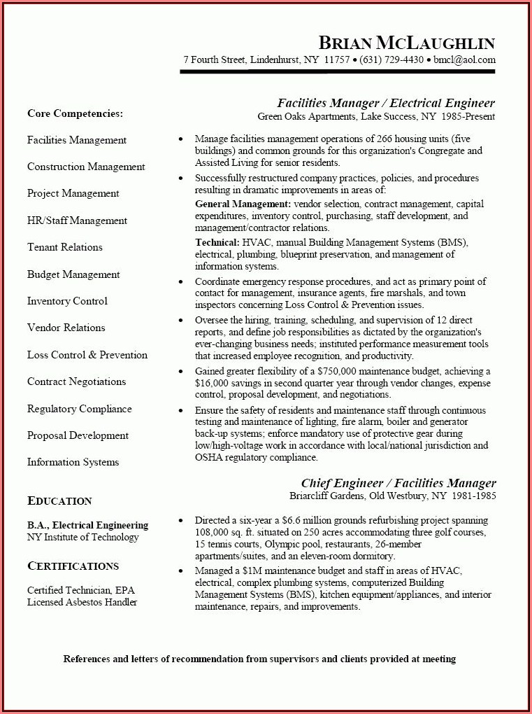Appliance Repair Technician Resume