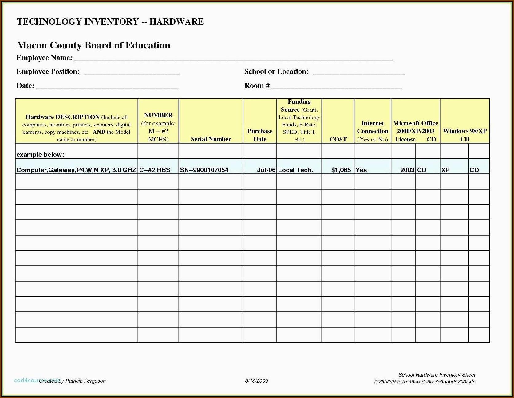 Attendance Tracker Template Xls