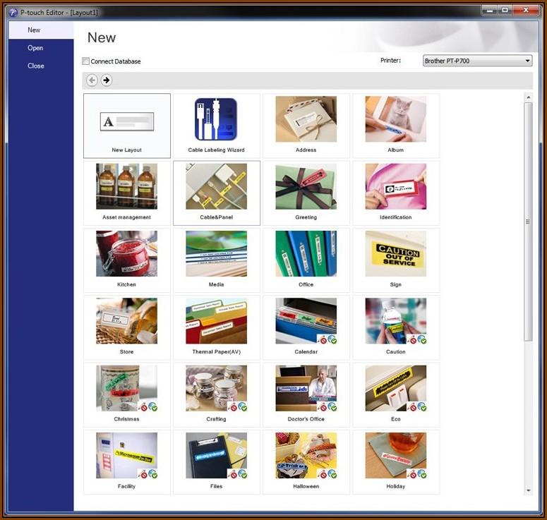 Avery Label Printer Templates