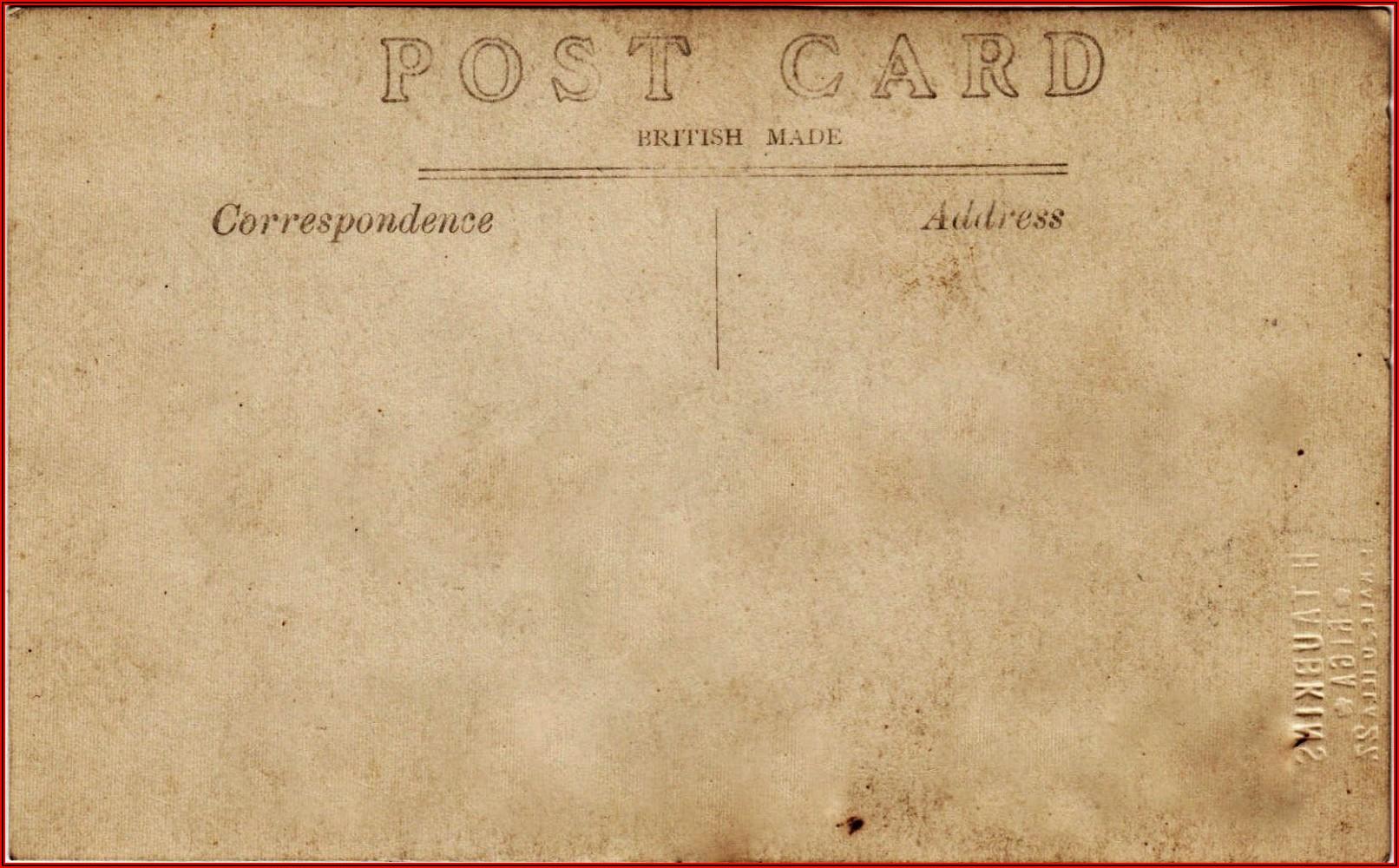 Avery Postcard Template 8387
