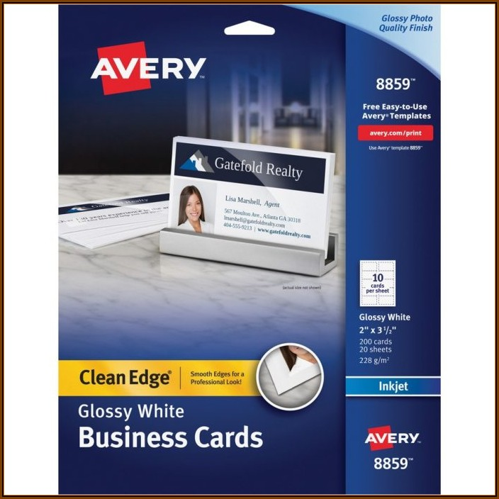 Avery Templates Business Cards