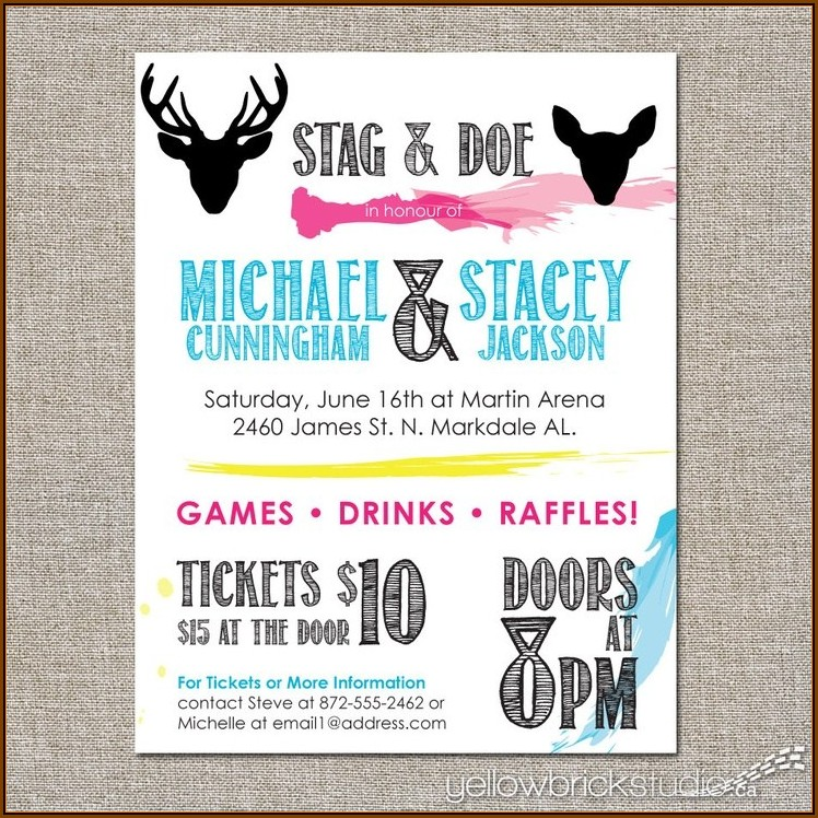 Bachelor Party Invitation Template Free