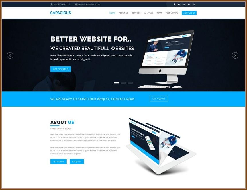 Best Free Landing Page Template Wordpress