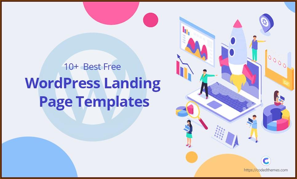 Best Free Landing Page Templates Wordpress