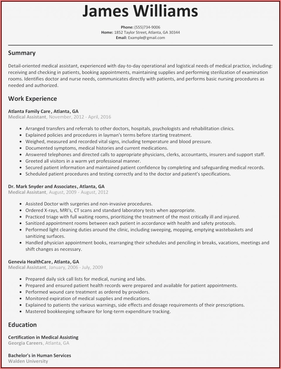 Best Free Resume Maker Online