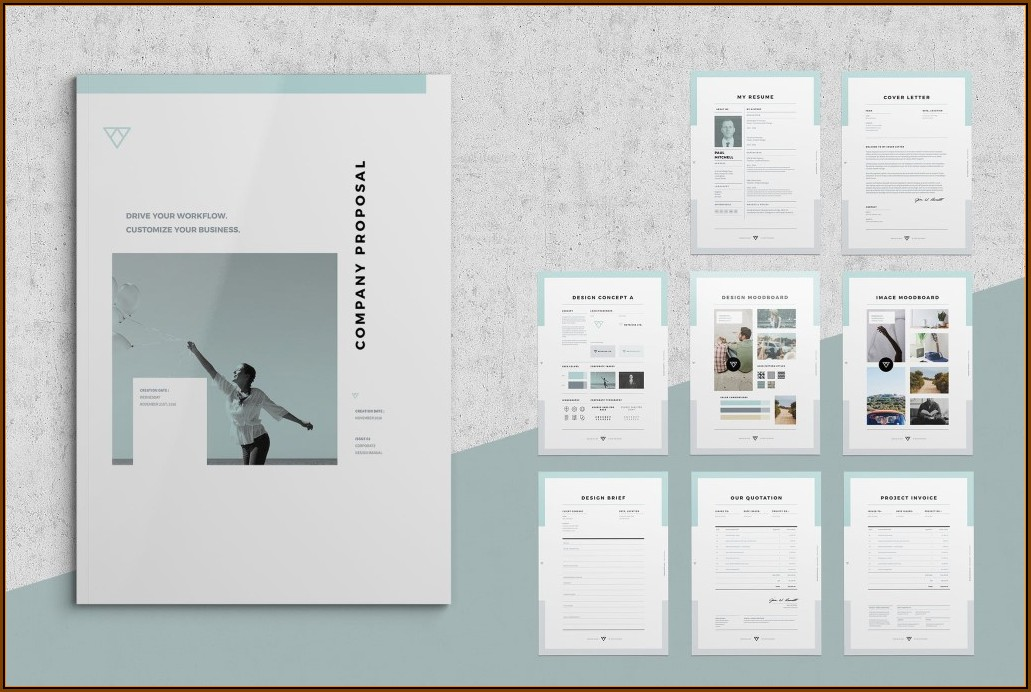 Business Proposal Template Free Download Indesign