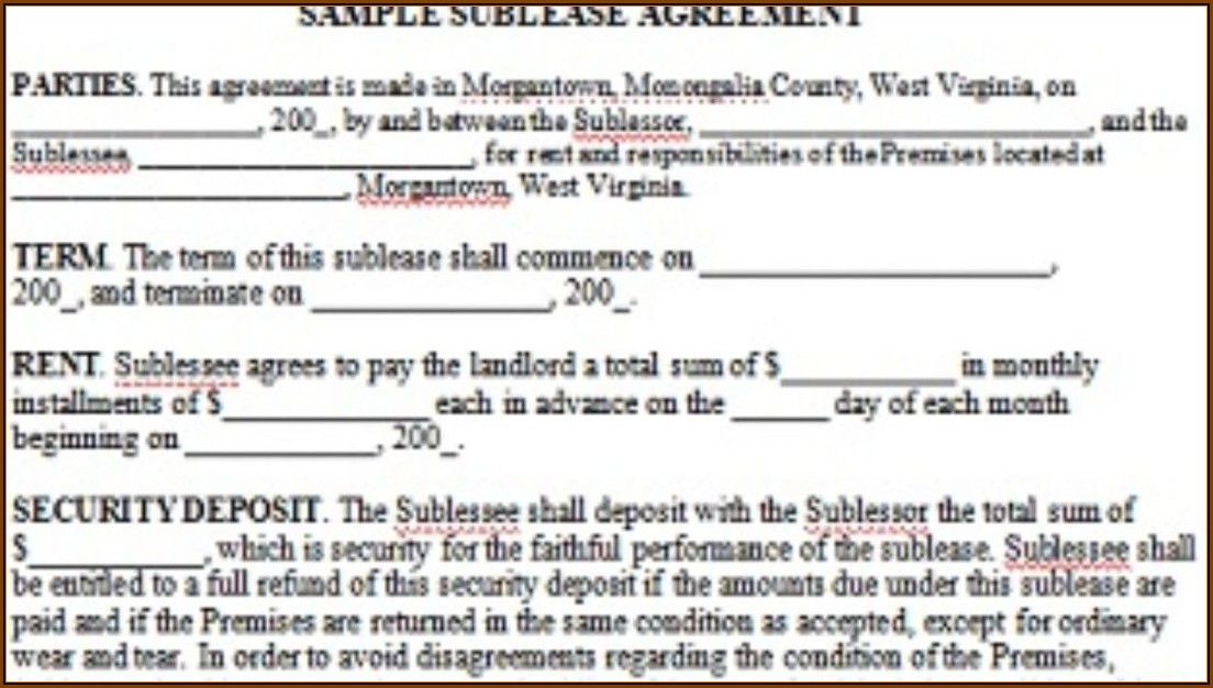 California Lease Agreement Template