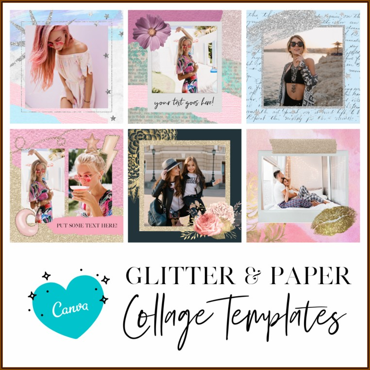 Canvas Collage Templates
