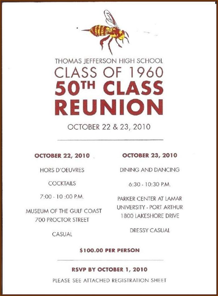 Class Reunion Flyer Templates Free