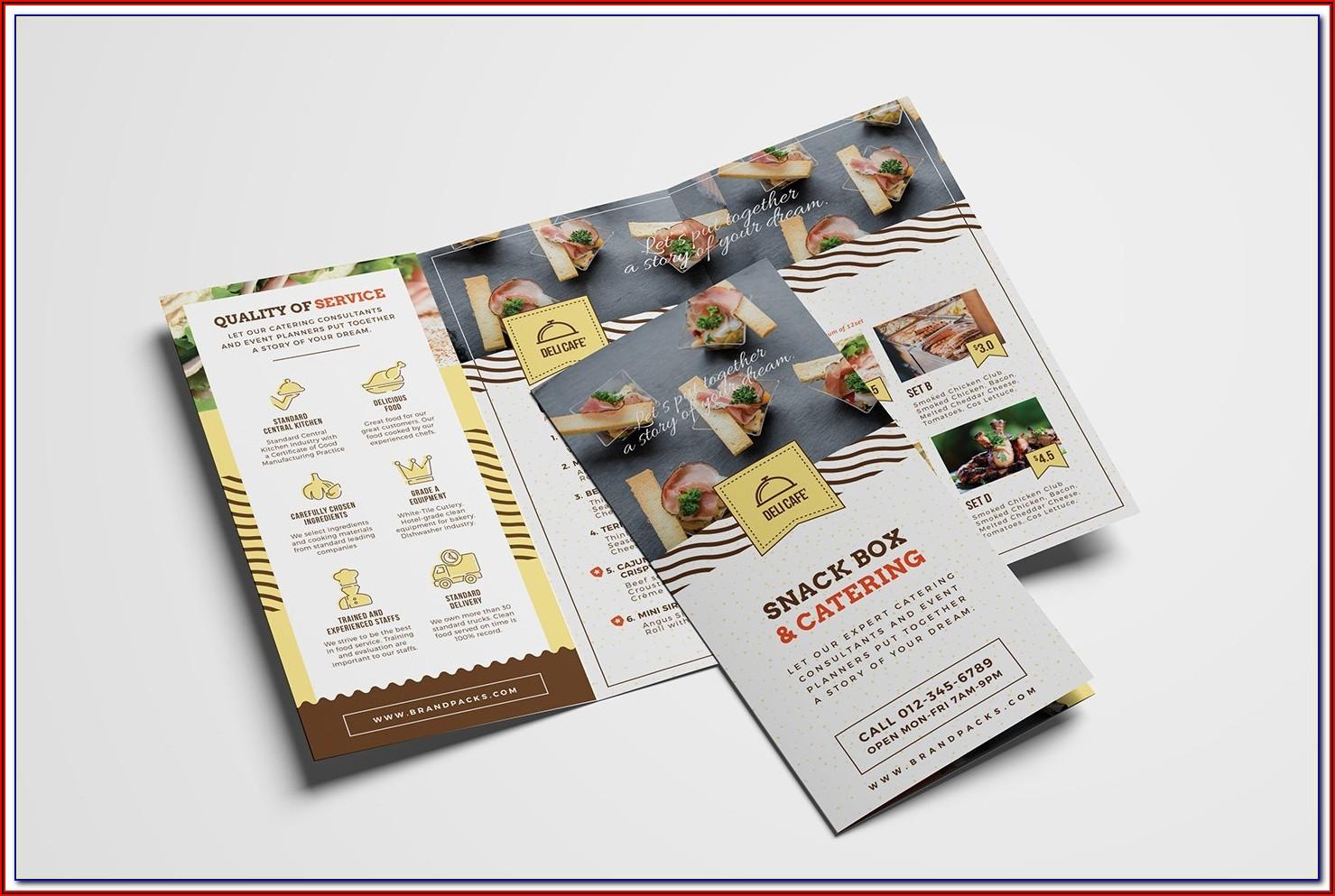 Company Picnic Invitation Flyer Template