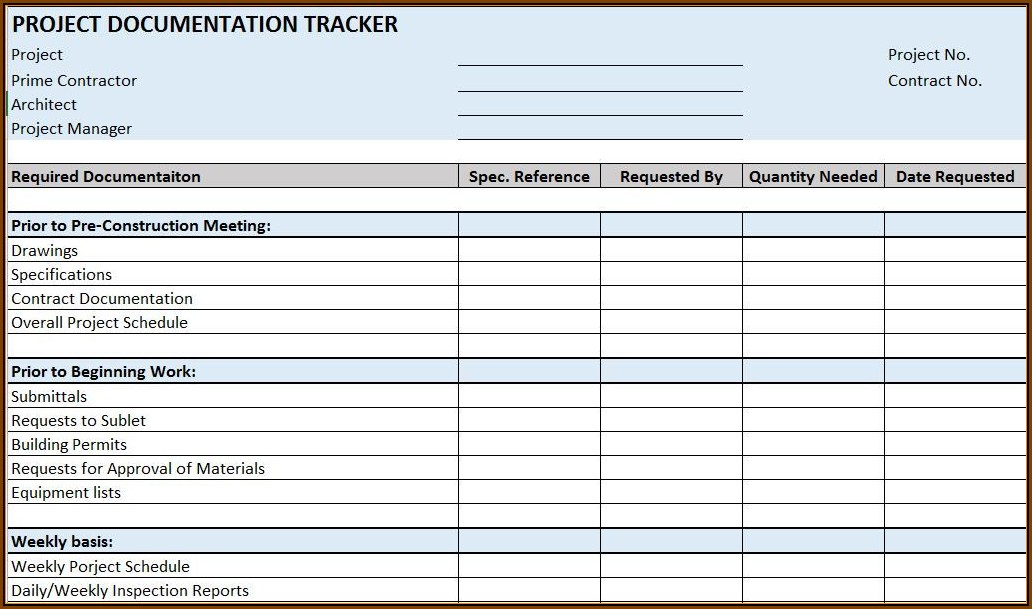 Construction Project Scheduling Templates For Excel