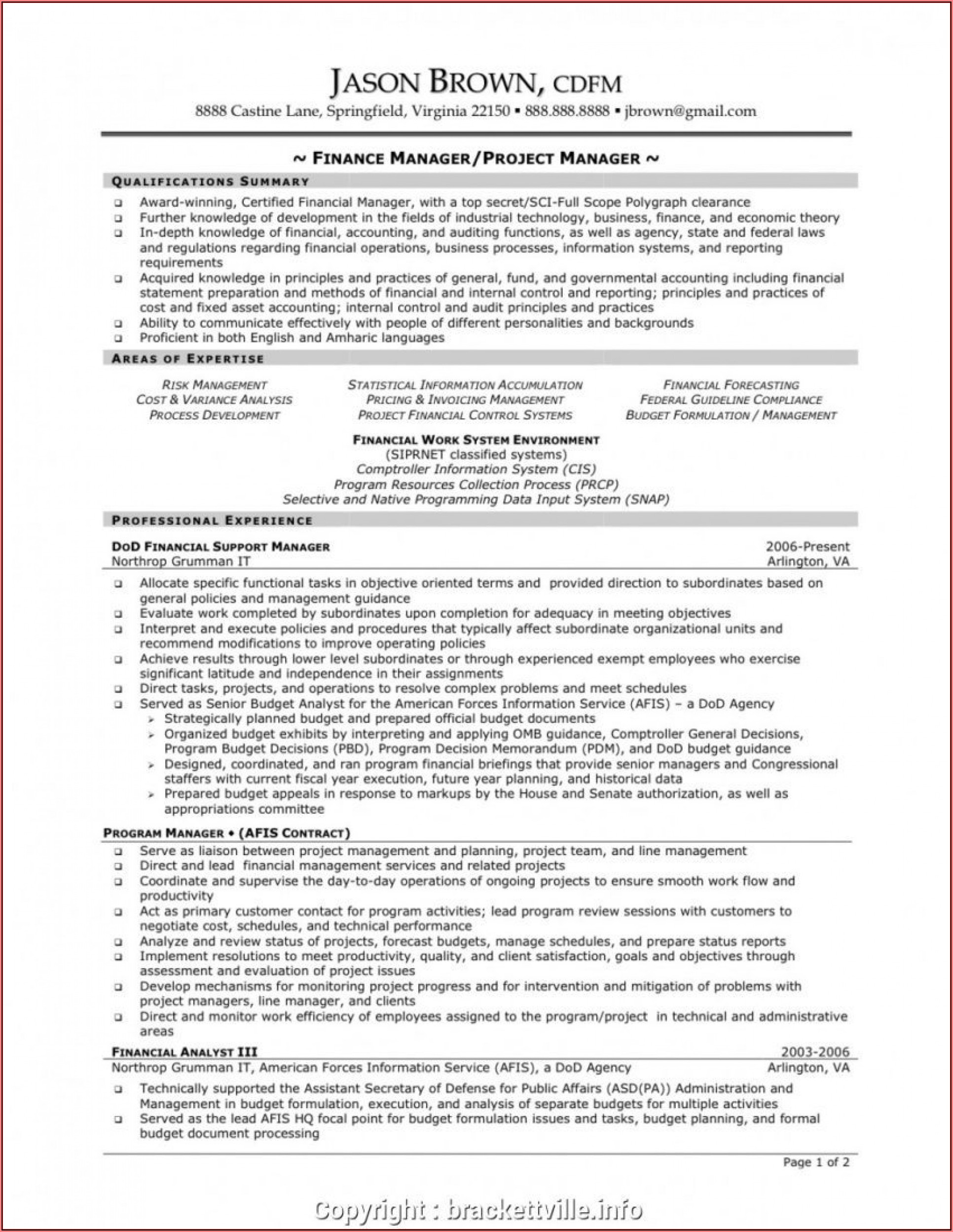 Construction Resume Sample Free
