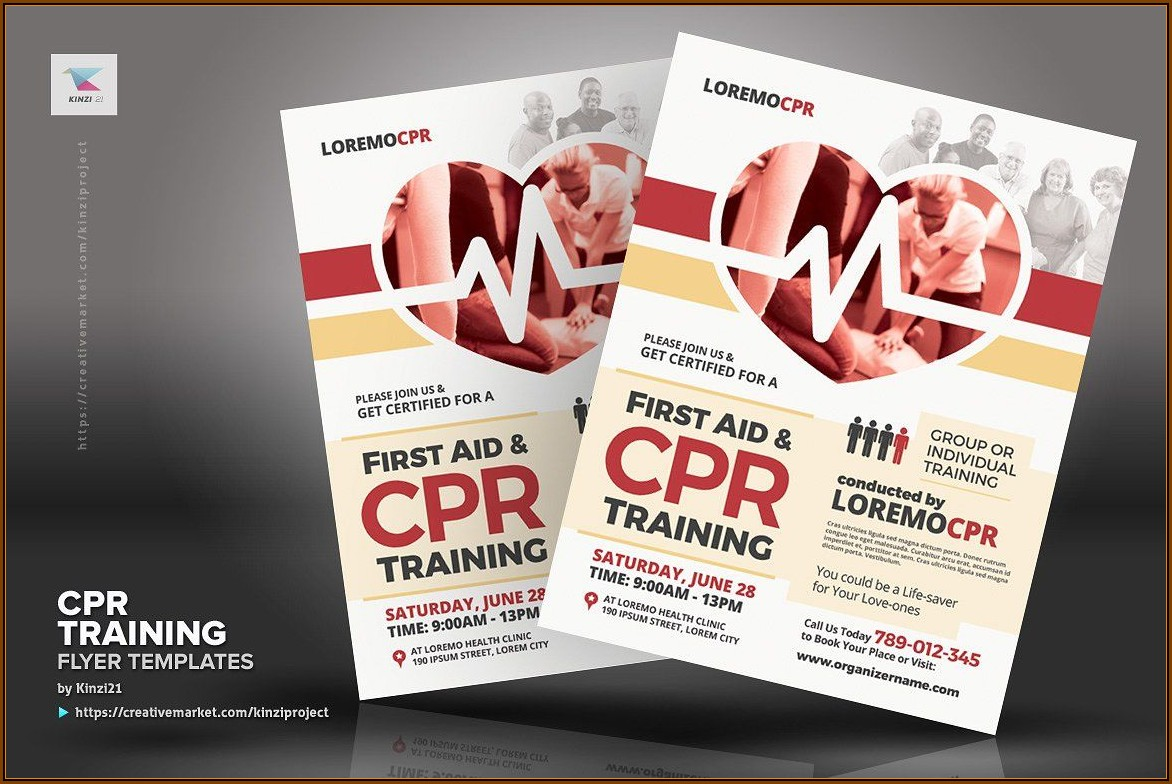 Cpr Card Template Pdf