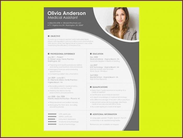 Creative Resume Templates Free Word