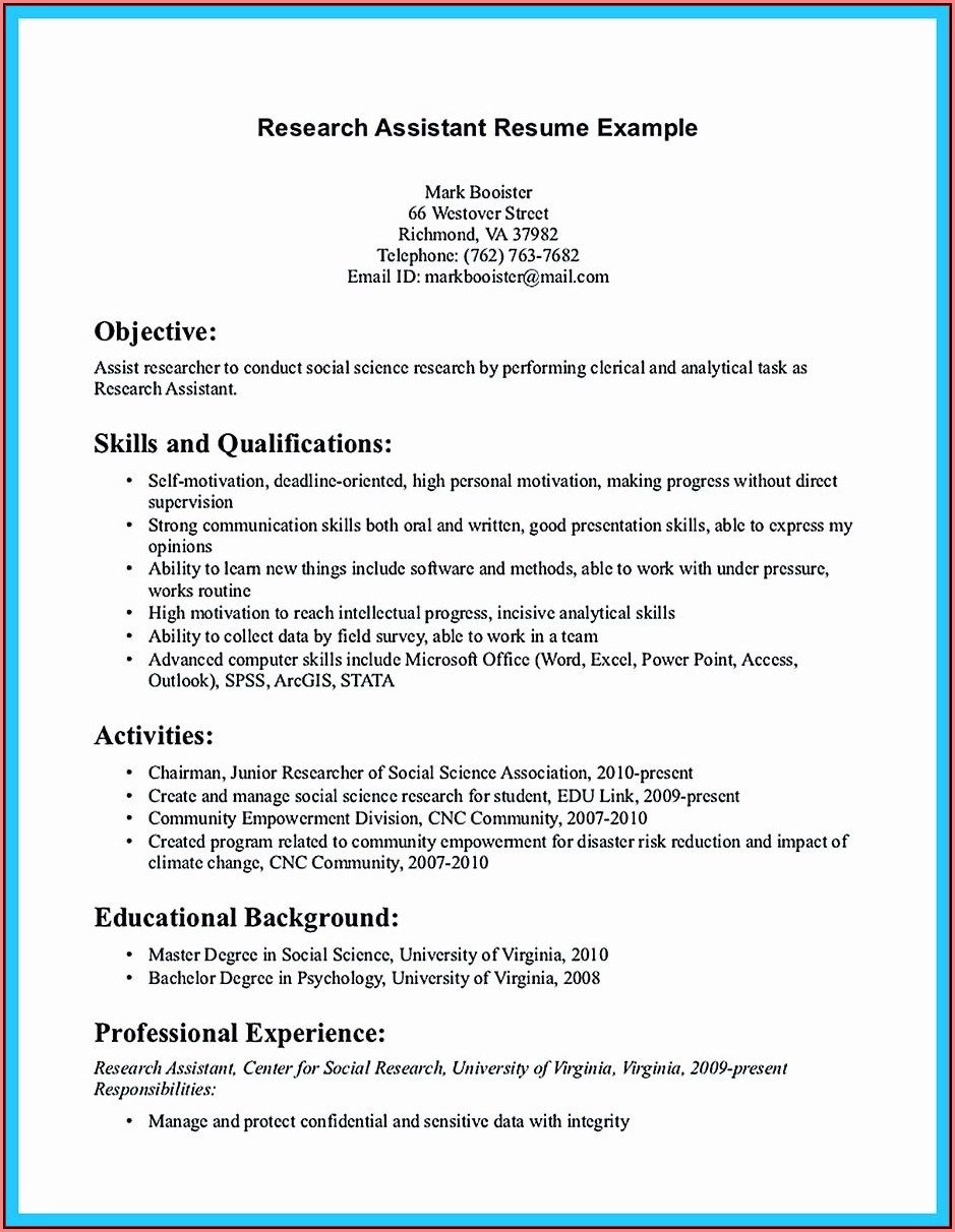 Dental Assistant Resume Sample No Experience