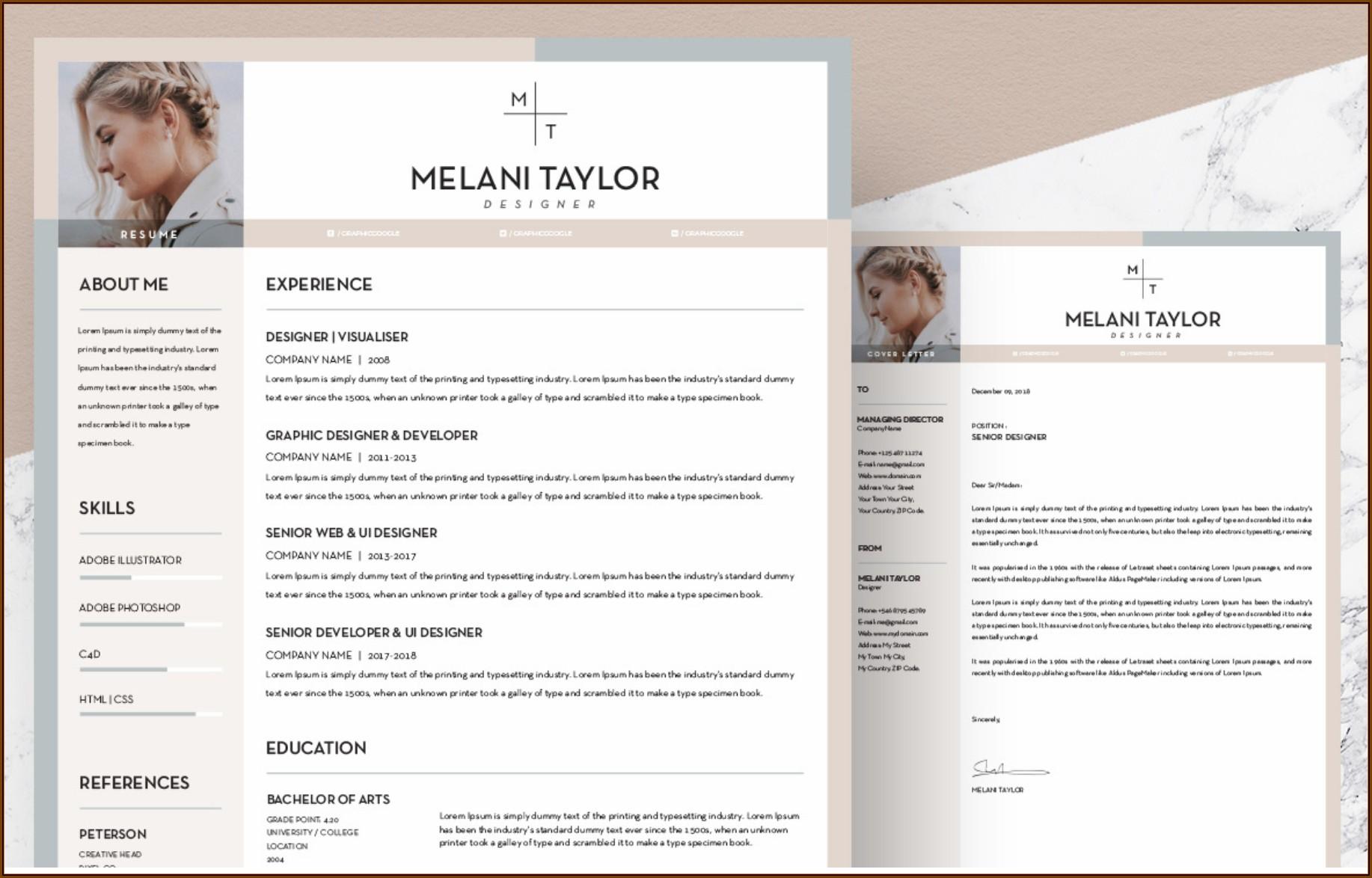 Design Resume Templates Free