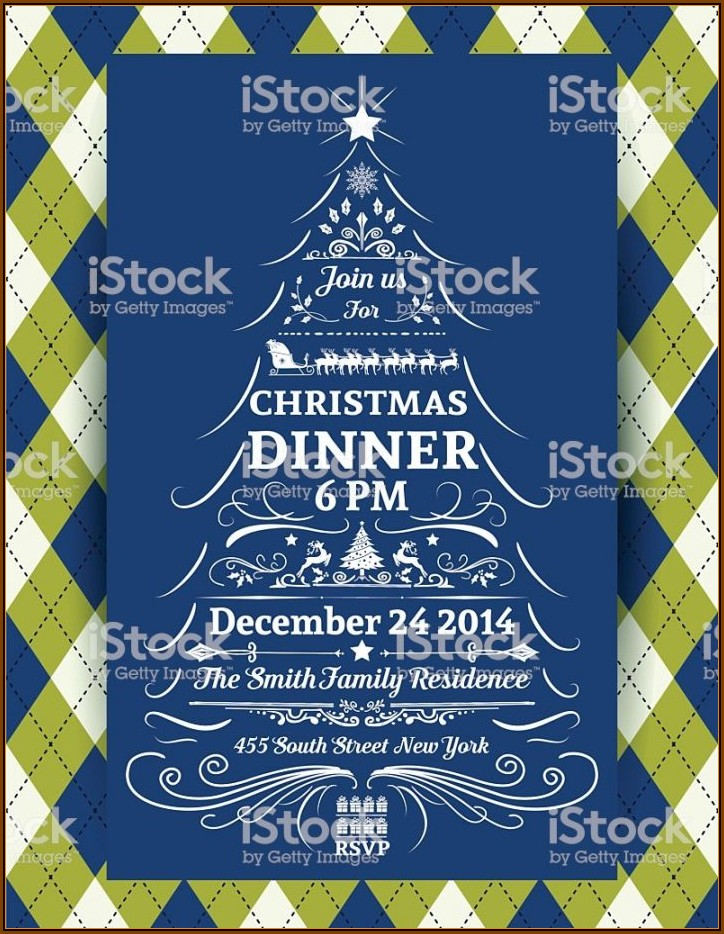 Dinner Invitation Cards Templates Free Download