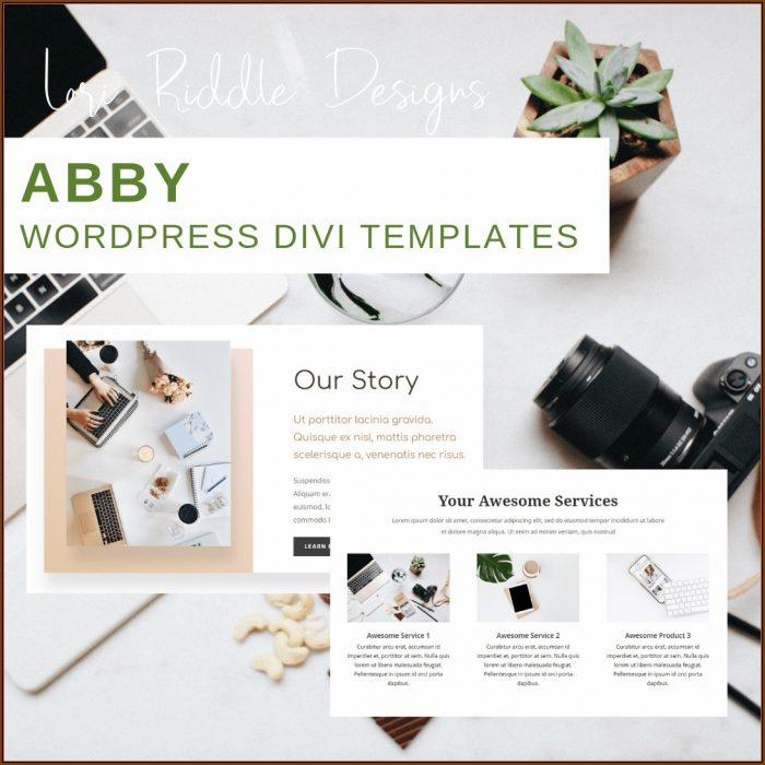 Divi Theme Templates