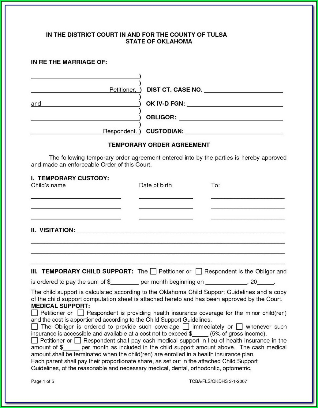 Divorce Paperwork Indiana
