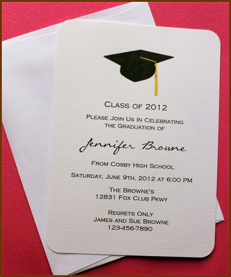 Diy Graduation Announcements Templates Free