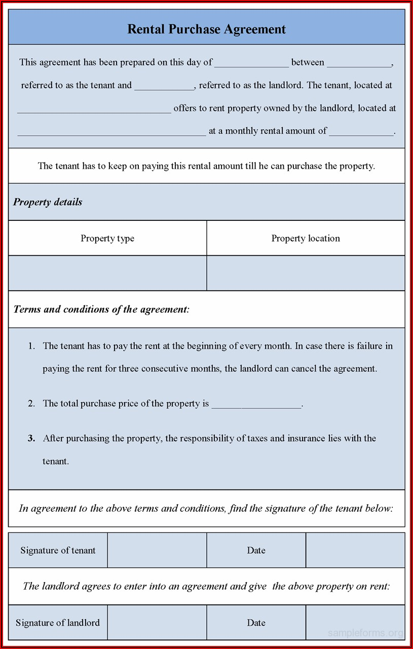 Download Lease Agreement Form Pdf